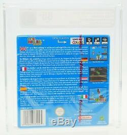Super Mario Bros. Deluxe Nintendo GameBoy Color GBC NEU SEALED VGA 85+ GOLD