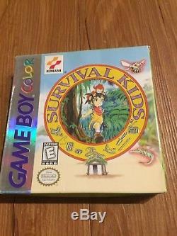 Survival Kids Complete CIB (Nintendo Game Boy Color, 1999) Konami Games