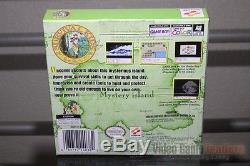 Survival Kids (Game Boy Color, 1999) H-SEAM SEALED! EXCELLENT! ULTRA RARE