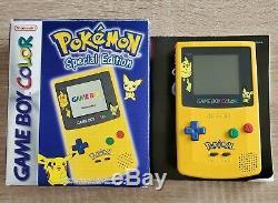 Système Portable Nintendo Game Boy Color Pokémon Edition