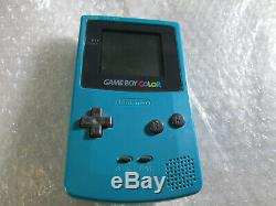 Teal Game Boy Color System Nintendo Gameboy. Complete in box CIB