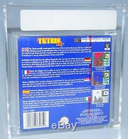 Tetris DX Nintendo Game Boy Color GBC SEALED VGA 85+ red strip