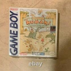 The Humans NEW factory sealed in Box Nintendo Original Game Boy Color Advance SP