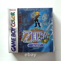 The Legend Of Zelda Oracle Of Ages Game Boy Color GBC Brand New & Sealed
