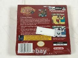 The Legend of Zelda Oracle of Seasons (Gameboy Color GBC) Brand New Sealed
