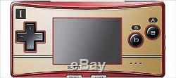 USED Nintendo Gameboy Micro Famicom Color Console F/S JAPAN SAL