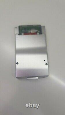 Ultimate Aluminium GameBoy Color GBC LCD IPS Backlight Rechargeable Red Buttons