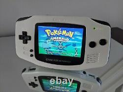 Ultimate Modded Gameboy Advance with IPS Screen and USB-C Rechargeable Battery