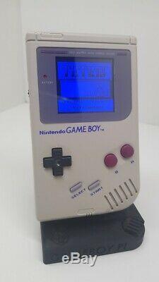 Ultimate Nintendo Gameboy DMG-01 Backlight IPS V2 changeable background colour