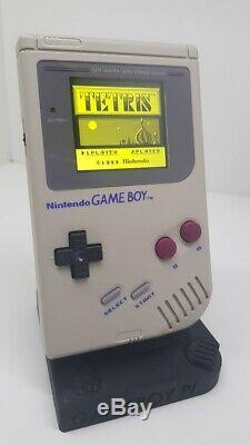 Ultimate Nintendo Gameboy DMG-01 Backlight IPS changeable background colour