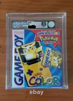 VGA 85 NM+ Sealed Game BOY color POKEMON Edition With Pokemon YELLOW GAME PAK