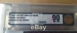 VGA rated 90 Resident Evil Gaiden (Nintendo Game Boy Color, 2002)