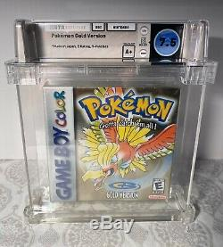 WATA CERTIFIED A+ 7.5 Sealed Pokemon Gold Version Game Boy Color