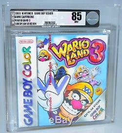 Wario Land 3 Nintendo GameBoy Color GBC NEU SEALED VGA 85 red strip