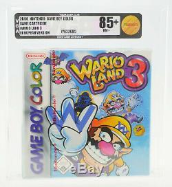 Wario Land 3 Nintendo GameBoy Color GBC SEALED NEU VGA 85+ GOLD