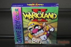 Wario Land II 2 (Game Boy Color, 1999) H-SEAM SEALED! EXCELLENT! ULTRA RARE