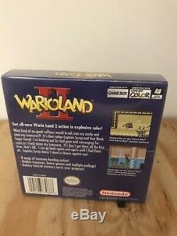 Wario Land II (Nintendo Game Boy Color, 1999) BRAND NEW SEALED! FREE SHIPPING