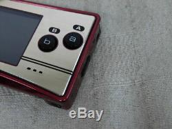X1841 Nintendo Gameboy micro console Famicom color Japan withbox pouch adapter x