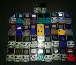 X61 Faulty Nintendo Gameboy Original Color Advance Consoles For Spares Or Repair
