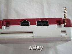 Y3199 Nintendo Gameboy Advance SP console Famicom color GBA Japan withadapter x