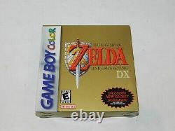 Zelda Link's Awakening DX Nintendo Game Boy Color Complete in Box Tested CIB GBC