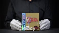 Zelda Link's Awakening DX Nintendo Gameboy Color AUS Boxed'The Masked Man