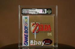 Zelda Link's Awakening DX VGA 75 Factory Sealed Game Boy Color GBC WATA New