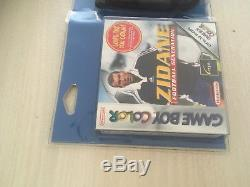 Zidane Nintendo Game Boy Color + Housse Zidane Sous Blister Rigide