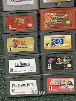 16 Jeux Nintendo Game Boy Pour Color, Advance Et Original. Zelda, Pokémon, Plus