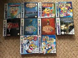 20x Jeux De Couleurs Gameboy / Gameboy Boxes Recherchés Après Des Titres