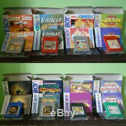 729 Game Boy Et GB Color Nouveaux Jeux Bootleg! 729 Juegos Bootleg. (usa Et Pal)
