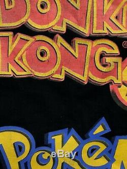 90 Vintage Super Rare Nintendo 64 Game Boy Color Pokemon Donkey Kong T-shirt