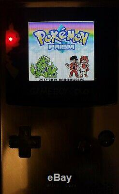 Aluminium Boxypixel Ags 101 Backlight Gameboy Color Poche Rechargeable