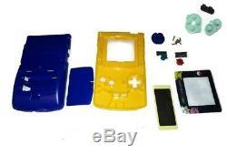 Austausch Ersatzteile Passif Pour Gameboy Color Gbc Gehäuse Pokemon Gelb Blau