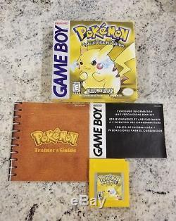 Authentique Complète Dans Boîte Pokemon Gameboy Couleur Game Boy Advance Lot Gbc Gba