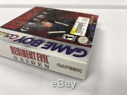 Authentique Resident Evil Gaiden Nintendo Game Boy Color Gbc Nouvelle Usine Scellée