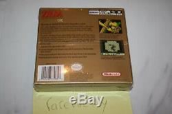 Awakening DX (game Boy Color) Nouveau Etanche La Première Impression Holofoil Nm Zelda Lien