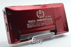 Bonne Nintendo Game Boy Micro Nes 20e Anniversaire Couleur Jeux Consoles