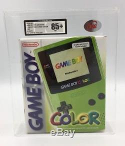 Brand New Factory Scellé Nintendo Gameboy Couleur 1999 En Vert Ukg Classé 85 + Nm