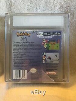 Brand New Scellé Pokemon Crystal Version Game Boy Color Vga Classé 85 Argent