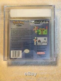 Brand New Sealed Pokemon Cristal Version Game Boy Color Vga Classé 80+ Argent