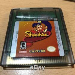 Capcom Game Boy Utilisé / GB Color Shantae Japonais Game Retoro