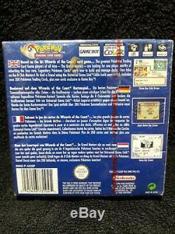 Carte À Collectionner Pokémon Scellé Jeu (nintendo Game Boy Color, 2000) -européens Vers