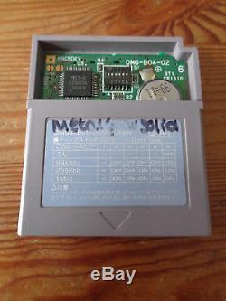 Cartouche D'examen Rare & Htf Pour Prototypes Couleur Game Boy En Métal Solide