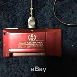 Chargeur De Console Nintendo Gameboy Micro Famicom Color Mario 20e Anniversaire Occasion