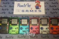 Choisissez Une Couleur Claire Gbc Pokemon Pikachu Edition Nintendo System Game Boy Game Boy