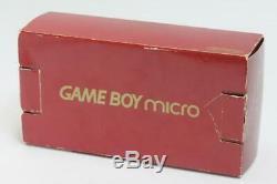 Coffret Couleur Gameboy Micro Famicom Console Nintendo Testé 247