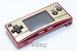 Coffret Couleur Gameboy Micro Famicom Console Testée Par Nintendo 204
