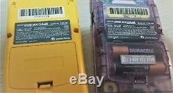 Collection Spéciale De Système Portable Couleur Game Boy Nintendo Fabriquée Au Japon