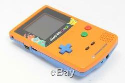 Console Couleur Nintendo Gameboy Color Pokemon Orange En Édition Limitée 290